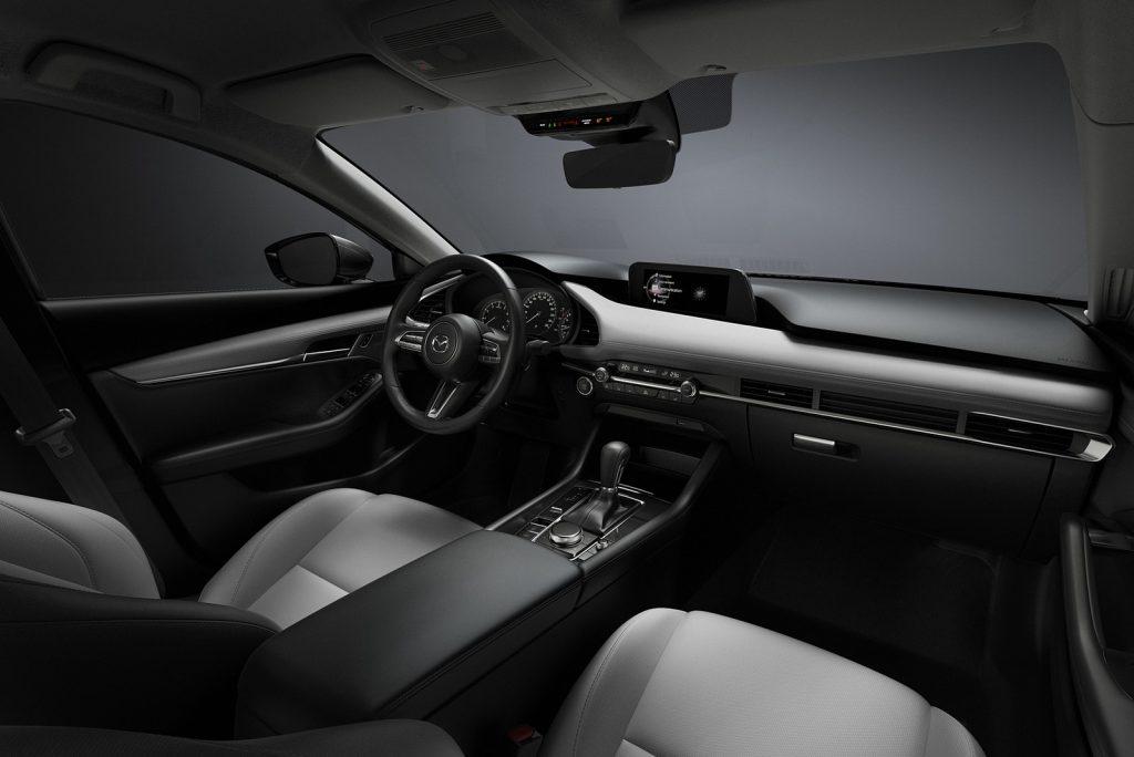 Mazda3 2019 interior