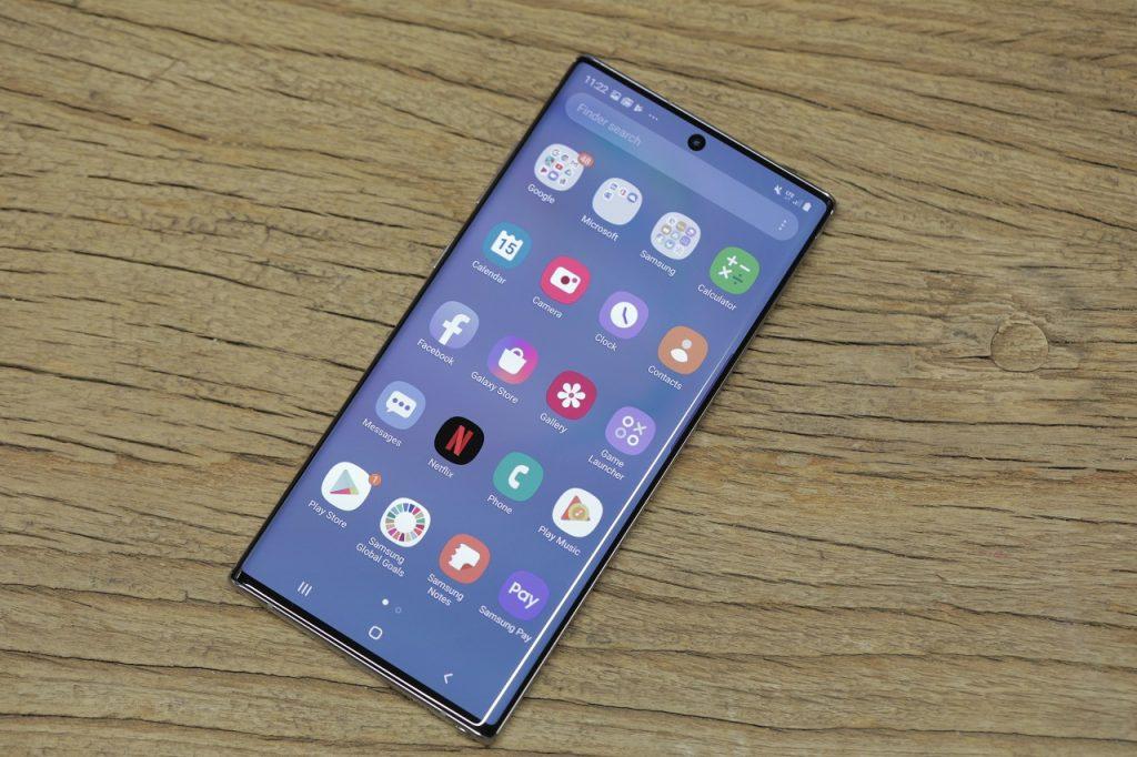 صفحه نمایش گوشی Galaxy Note 10