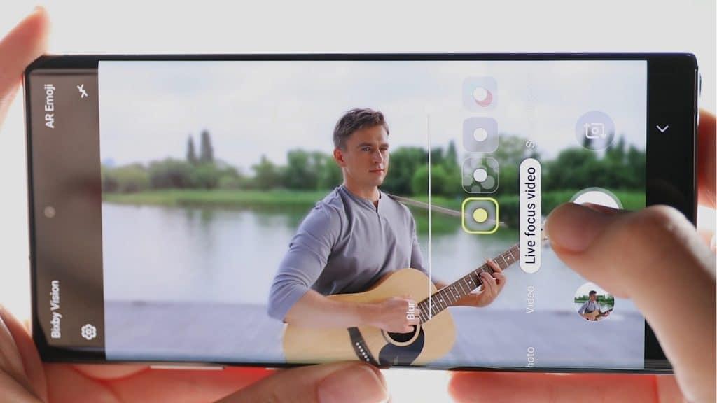 معرفی ویژگی Live Focus Video در گوشی Galaxy Note 10