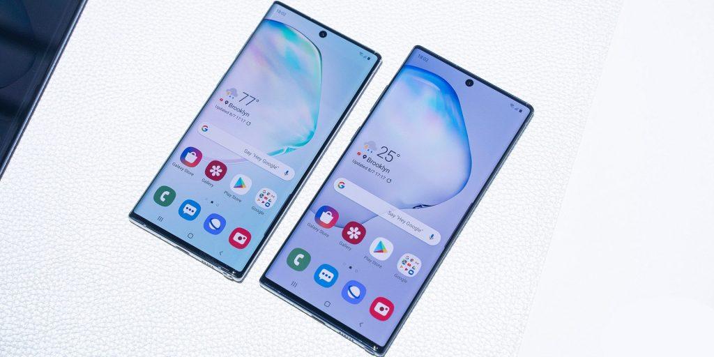 مقایسه گوشی Galaxy Note 10 و Galaxy Note 10+