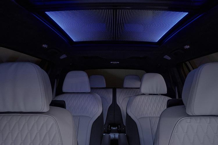 روشنایی سقف بی ام و X7