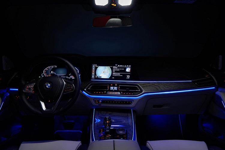 نورپردازی داخلی BMW X7