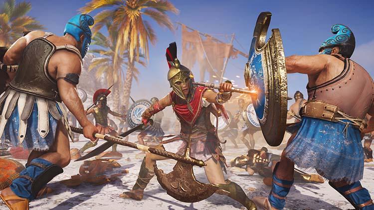مراحل بازی Assassin's Creed Odyssey