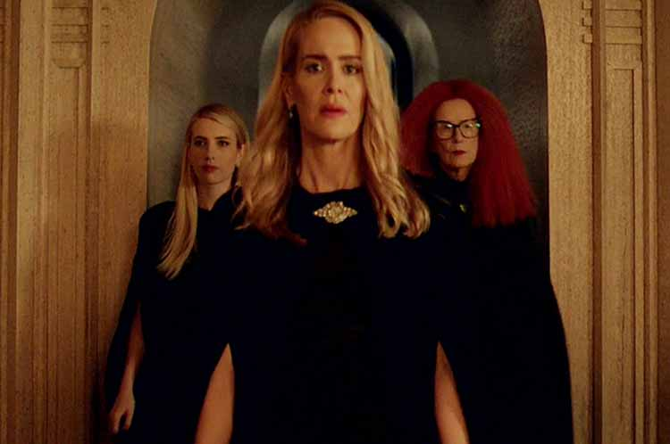 Cordelia and her witches in AHS Apocalypse