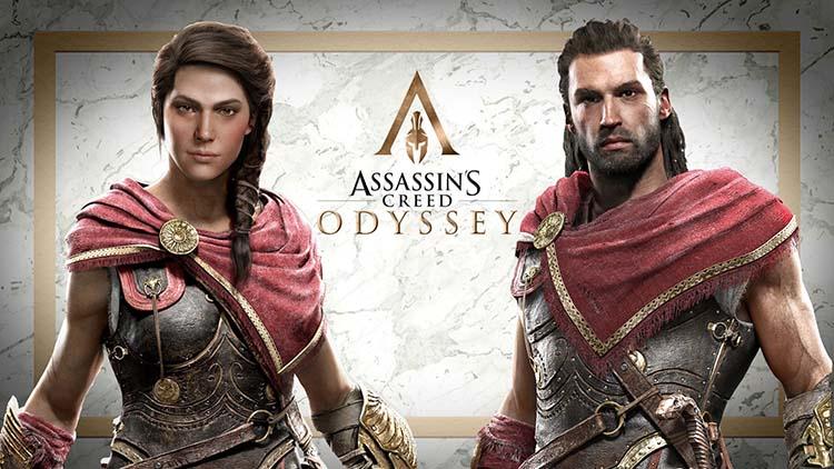 شخصیت های بازی Assassin's Creed Odyssey