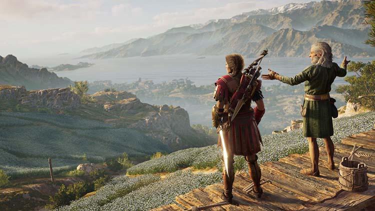 جهان بازی Assassin's Creed Odyssey