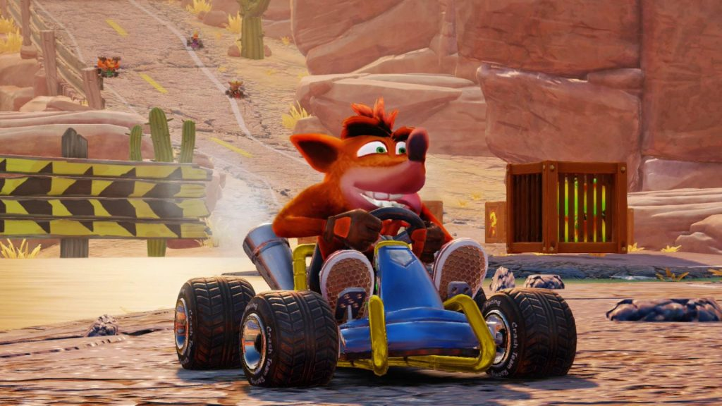 دریفت در بازی Crash Team Racing Nitro-Fueled