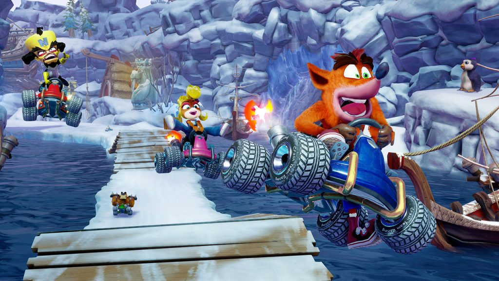 نقشه های بازی Crash Team Racing Nitro-Fueled
