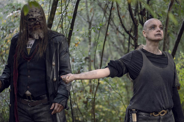 آلفا و بتا در سریال مردگان متحرک
