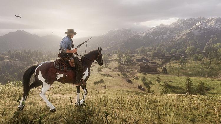 نقشه بازی Red Dead Redemption 2