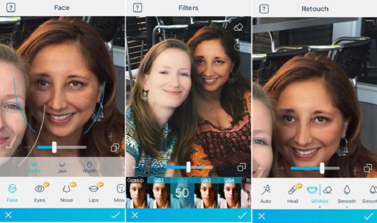 تشخیص چهره در یک عکس سلفی