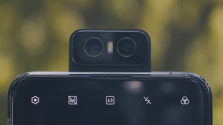 دوربین سلفی Asus Zenfone 6