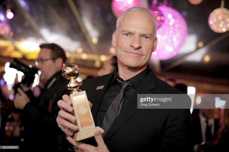 مارتین مکدونا؛ برندهی جایزهی گلدن گلوب 2018