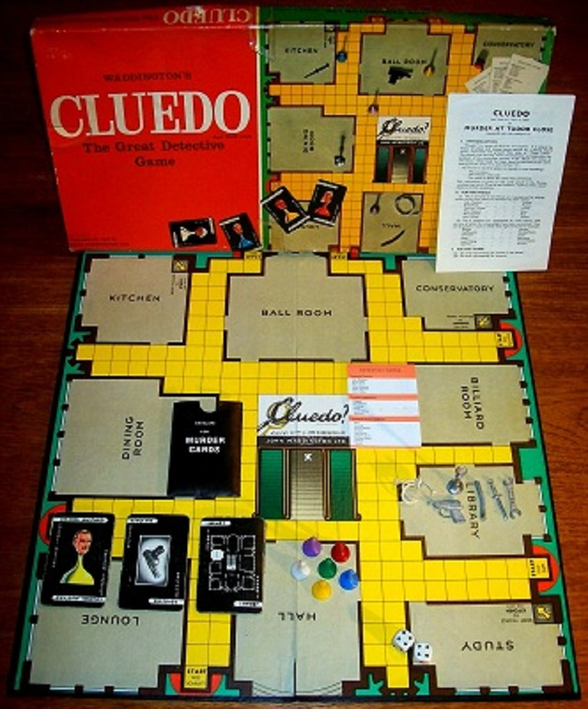 نوعی بازی کلودو متعلق به دهه 1940 میلادی
