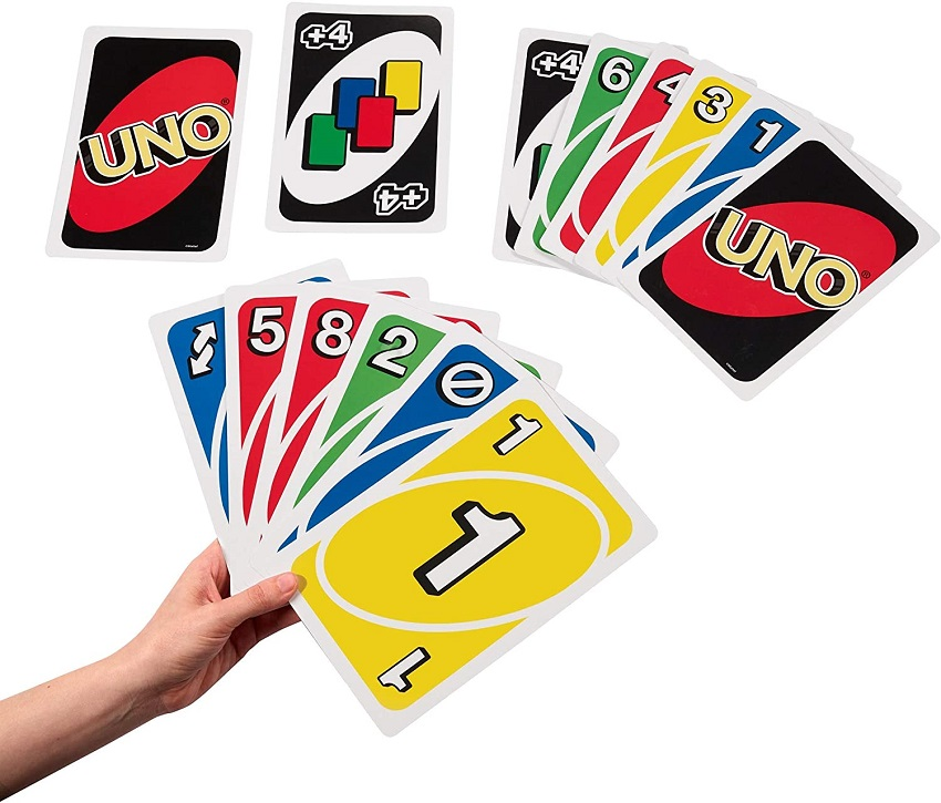 کارتهای بازی اونو